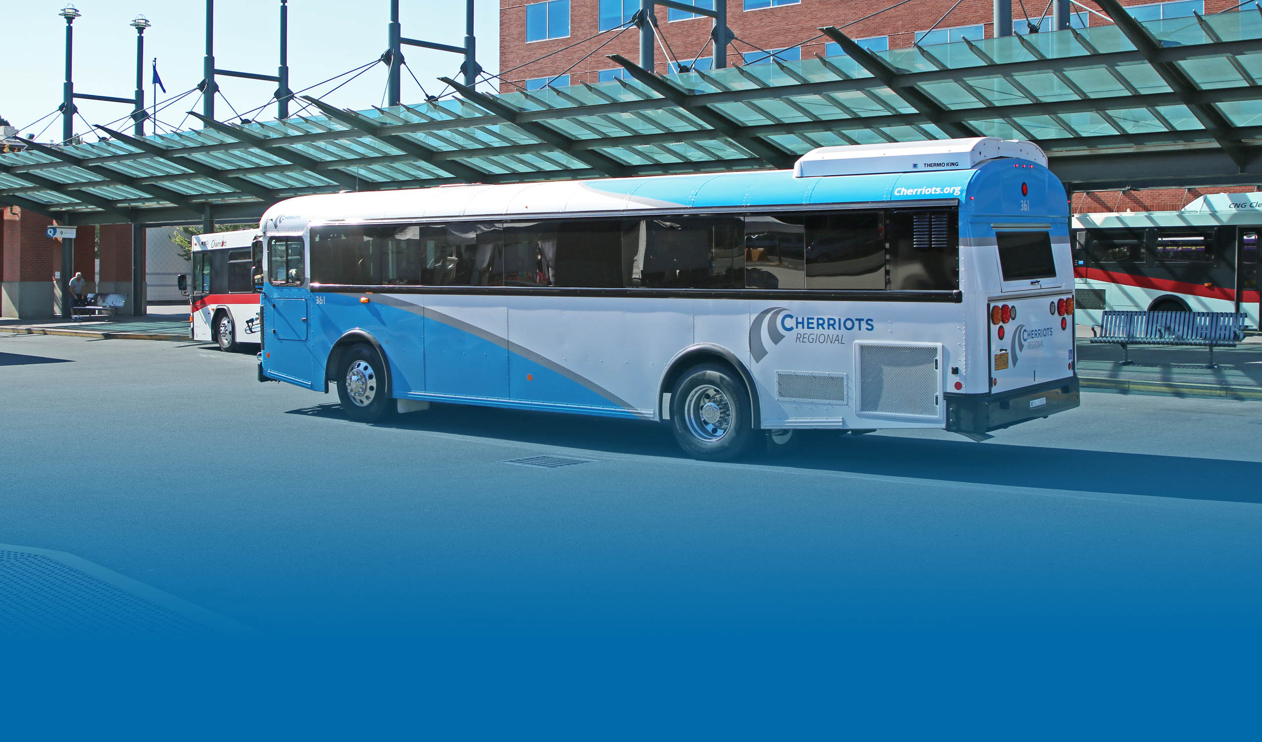 Regional Bus at Downtown Transit Center